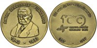 Bronzemedaille 1997 BRASILIEN Deutsches Krankenhaus Vorzüglich  37.84 £ 45,00 EUR  +  6.73 £ shipping