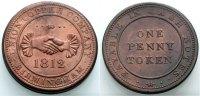 Penny-Token 1812 ENGLAND Birmingham Sehr schön  25.86 £ 30,00 EUR  +  6.90 £ shipping
