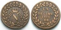 Décime 1815 FRANKREICH  Sehr schön  68.96 £ 80,00 EUR  +  6.90 £ shipping