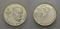 AR 5 Ecu 1995 EUROPÄISCHE UNION BELGIEN: 50 JAHRE UNO Polierte Platte  30.17 £ 35,00 EUR  +  6.90 £ shipping