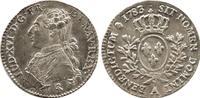 France Louis XVI Silver 24 Sols 1783-A UNC