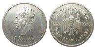 5 Mark Goethe 1932 G Weimarer Republik  vorzüglich  2813.43 £ 3250,00 EUR free shipping