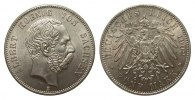 5 Mark Sachsen  Kursmünze 1902 E Kaiserreich  Bildseite Kratzer, sonst ... 668.50 £ 795,00 EUR free shipping