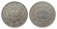 50 Pfennig 1898 A Kaiserreich  sehr schön / vorzüglich  248.06 £ 295,00 EUR free shipping