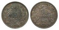 50 Pfennig 1903 A Kaiserreich  vorzüglich  272.69 £ 315,00 EUR free shipping