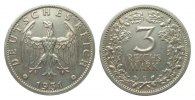 3 Mark Kursmünze 1931 E Weimarer Republik  wz. Randfehler, fast vorzügl... 306.92 £ 365,00 EUR free shipping