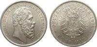 5 Mark Württemberg 1876 F Kaiserreich  wz. Kr., vorzüglich / Stempelgla... 1034.48 £ 1195,00 EUR free shipping