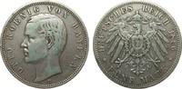 5 Mark Bayern 1896 D Kaiserreich  sehr schön  255.37 £ 295,00 EUR free shipping