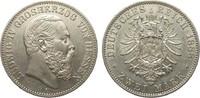 2 Mark Hessen 1888 A Kaiserreich  fast vorzüglich  2553.73 £ 2950,00 EUR free shipping