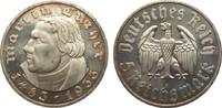 5 Mark Luther 1933 A Drittes Reich  min. Kratzer, polierte Platte  428.51 £ 495,00 EUR free shipping
