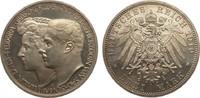 3 Mark Sachsen-Weimar-Eisenach 1910 A Kaiserreich  Bildseite wz. Kratze... 255.37 £ 295,00 EUR free shipping