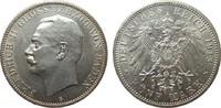 5 Mark Baden 1913 G Kaiserreich  fast Stempelglanz  385.22 £ 445,00 EUR free shipping
