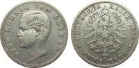 2 Mark Bayern 1888 D Kaiserreich  fast sehr schön  315.97 £ 365,00 EUR free shipping