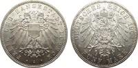 5 Mark Lübeck 1904 A Kaiserreich  fast Stempelglanz / Stempelglanz  1207.61 £ 1395,00 EUR free shipping