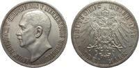 3 Mark Mecklenburg-Strelitz 1913 A Kaiserreich  wz. Randfehler, vorzügl... 1514.93 £ 1750,00 EUR free shipping