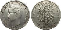 5 Mark Bayern 1888 D Kaiserreich  Randfehler, sehr schön  248.06 £ 295,00 EUR free shipping