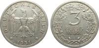 3 Mark Kursmünze 1931 E Weimarer Republik  sehr schön / vorzüglich  290.10 £ 345,00 EUR free shipping