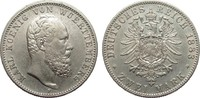 2 Mark Württemberg 1883 F Kaiserreich  Bildseite etw. rauh, fast vorzüg... 500.32 £ 595,00 EUR free shipping