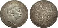 5 Mark Preussen Wilhelm II 1888 A Kaiserreich  kl. Kratzer, fast vorzüg... 609.64 £ 725,00 EUR free shipping