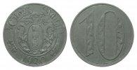 10 Pfennig Danzig 1920 Kolonien und Nebengebiete  gutes vorzüglich  714.75 £ 850,00 EUR free shipping