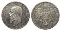 2 Mark Schaumburg-Lippe 1904 A Kaiserreich  kl. Kratzer, polierte Platte  920.77 £ 1095,00 EUR free shipping