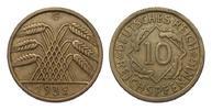 10 Pfennig 1932 G Weimarer Republik  besser als sehr schön  995.52 £ 1150,00 EUR free shipping