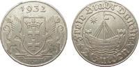 2 Gulden Danzig 1932 Kolonien und Nebengebiete  min. Rf., fast vorzügli... 449.87 £ 535,00 EUR free shipping