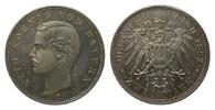 2 Mark Bayern 1893 D Kaiserreich  Bildseite wz. Kratzer, polierte Platte  273.29 £ 325,00 EUR free shipping