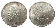 5 Mark Baden 1900 G Kaiserreich  wz. Kr. u. Rf., Bildseite vz/St, Adler... 1173.03 £ 1395,00 EUR free shipping