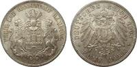 5 Mark Hamburg 1903 J Kaiserreich  kl. Kratzer, fast Stempelglanz  290.10 £ 345,00 EUR free shipping