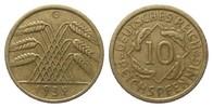 10 Pfennig 1932 G Weimarer Republik  kl. Randfehler, besser als sehr sc... 861.34 £ 995,00 EUR free shipping