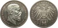 2 Mark Sachsen-Coburg und Gotha 1895 A Kaiserreich  Bildseite min. Haar... 2093.80 £ 2490,00 EUR free shipping