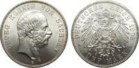 5 Mark Sachsen 1903 E Kaiserreich  kl. Kratzer, fast Stempelglanz / Ste... 668.50 £ 795,00 EUR free shipping