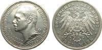 3 Mark Hessen Regierungsjubiläum 1917 A Kaiserreich  wz. Kratzer, polie... 4162.37 £ 4950,00 EUR free shipping