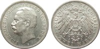 2 Mark Baden 1911 G Kaiserreich  min. Randfehler, vz  /  vz+  306.92 £ 365,00 EUR free shipping