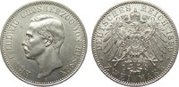 2 Mark Hessen 1899 A Kaiserreich  Bildseite wz. Kratzer, vz / St  1077.76 £ 1245,00 EUR free shipping