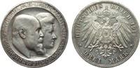 3 Mark Württemberg Silberhochzeit 1911 F Kaiserreich  l. berieben, vz+ ... 389.55 £ 450,00 EUR free shipping