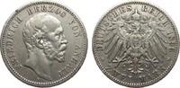 2 Mark Anhalt 1896 A Kaiserreich  sehr schön  306.92 £ 365,00 EUR free shipping